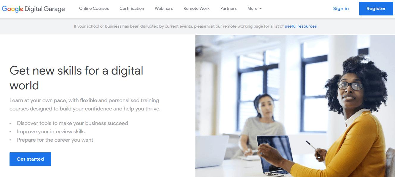 google digital garage for digital marketers